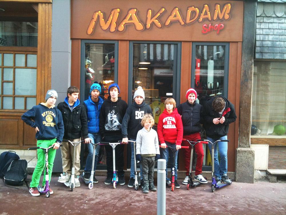 Le magasin makadam shop - Magasin de bricolage rouen ...